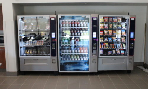 Vending machines in Lafayette, Lake Charles & Houma offices